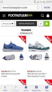 Footasylum sale items extra 15% off at checkout.