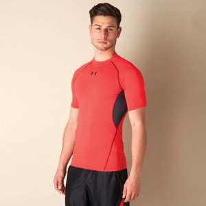 Under Armour Mens HeatGear Armour Compression T-Shirt £7.99 + £3.95 P&P @ Get The Label