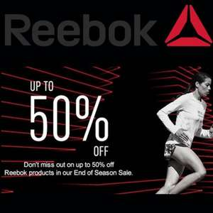 *now Live* Reebok Upto 50% off sale + an extra 20% off using Code [UPDATE] Now with Free delivery & No min spend! - Live 27th Jan 00:01