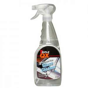 Triple QX Glass Cleaner (750ml) £1.63 with code delivered @ ECP