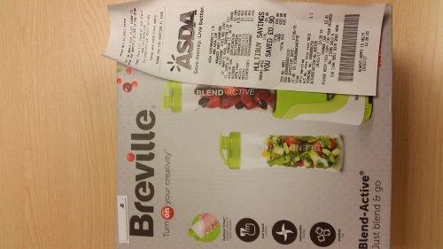 Breville VBL062 Blend Active Personal Blender £15 ASDA