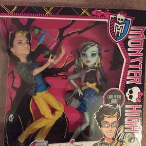 monster high instore Wilkos Hillsborough sheffield - £3
