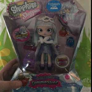 Shopkins Shoppie Gemma Stone Reduced £5 in store at Asda