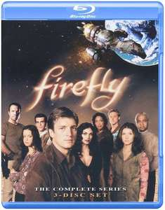 Firefly Complete Season blu-ray US Import £5.99 for prime / £7.98 non prime @ Amazon