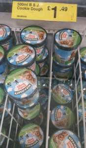 500ml Ben and Jerry's £1.49 @ Farmfoods