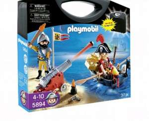 Playmobil Pirate Carry Case £5 @ Morrisons