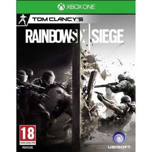 rainbow 6 siege xbox one £17.09 @ Tesco Direct