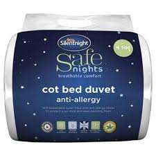 Silentnight Anti-Allergy Cotbed Duvet £6.60 Tesco