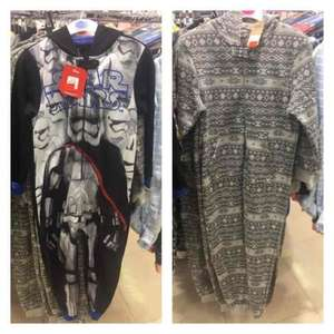 Boys StarWars & other Onesies Now £3 instore @ Chester Primark