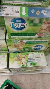 Tiger Cat food, 50 pouches £7 at Asda
