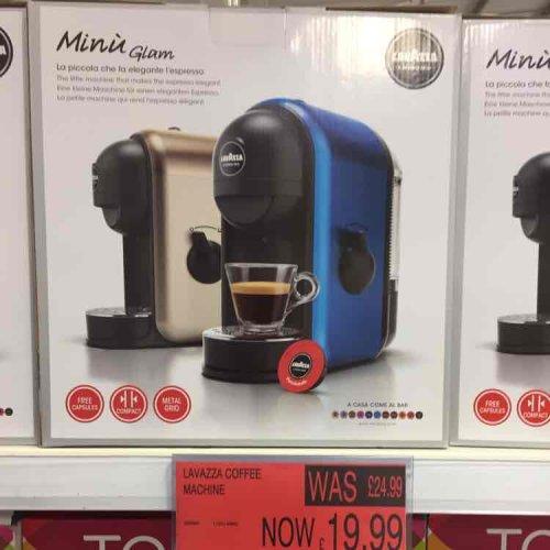 Lavazza Minu Glam Coffee Machine £19.99 instore @ B&M