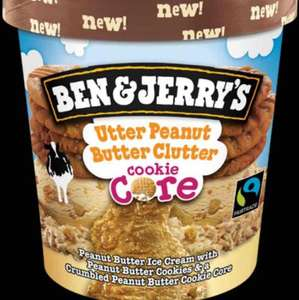 Ben & jerry utter peanut butter tub for 98p  @ Sainsbury's Slough