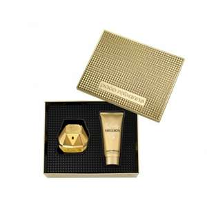 Paco Rabanne Lady Million Eau De Parfum 80ml & Body Lotion 100ml Gift Set for only £45 (RRP £75!) with free delivery (use code FREEDEL) @ Beauty Base