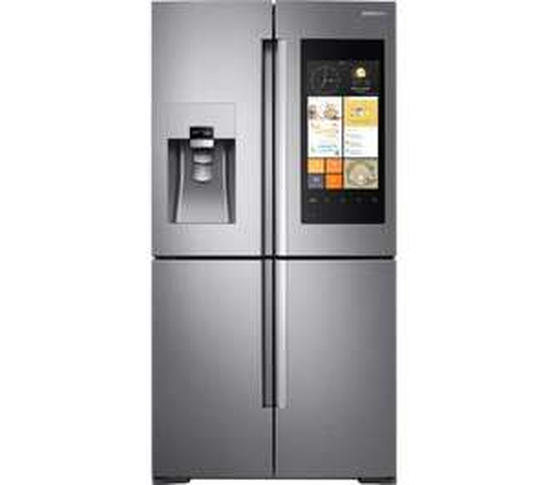SAMSUNG Family Hub RF56K9540SR American-Style Smart Fridge Freezer £3499 @ Currys.
