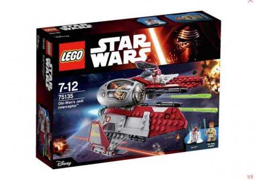 Star Wars Lego Obi-Wan's Jedi interceptor £10 Asda in store Bradford Forster Square