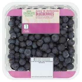 Blueberries 400gr, £2.50 instore / online @ Asda groceries