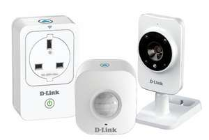 my dlink Smart Home HD starter Kit NOW £50 instore @ SAINSBURY'S  WORKS with Alexa (amazon echo)