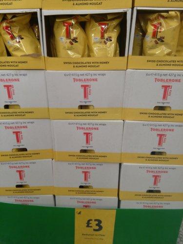 Toblerone Tinys 415g bag £3 instore @ Morrisons Bracknell