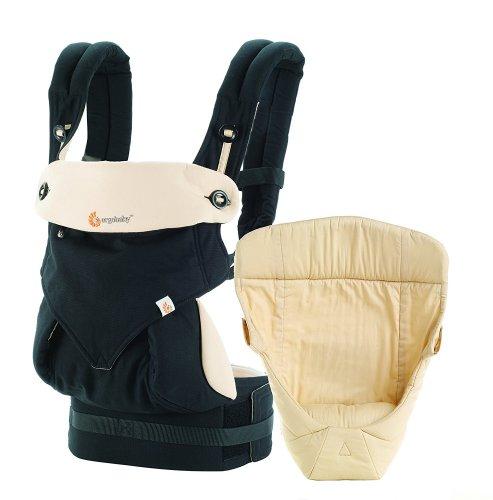 Ergobaby baby carrier collection 360 -bundle of joy- (3.2 - 15 kg), Black/Camel - Amazon - £115.16