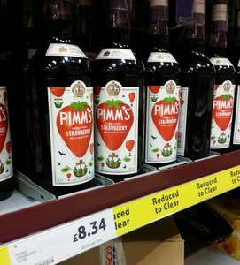 1 litre Pimms Strawberry and mint @ tesco Lurgan for £8.34