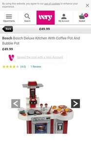 Bosch Bosch Deluxe Kitchen with Coffee Pot and Bubble Pot | very.co.uk - £49.99