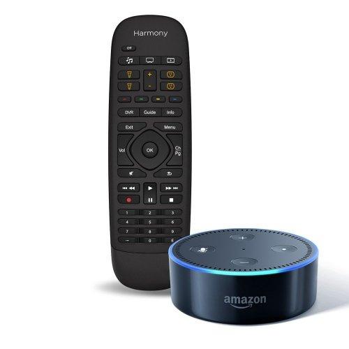 Amazon Echo Dot (2nd Generation), Black + Logitech Harmony Companion Remote and Hub Bundle £129.99 (AMAZON)
