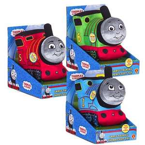 Large Thomas The Tank Engine Talking Plush Toy - £4.99 instore @ Sainsburys
