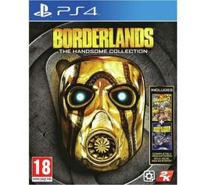 Borderlands: The Handsome Collection PS4/XO £11.99 @ Argos C+C
