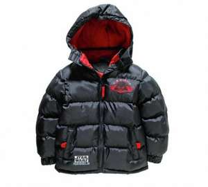 Star Wars Boys' Black Puffer Coat 3-10 Years £6.99 Argos (Free C&C)