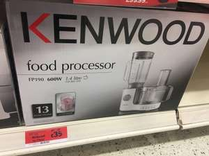 Kenwood FP190 food processor reduced from £90 to £35 instore @ Sainsbury's