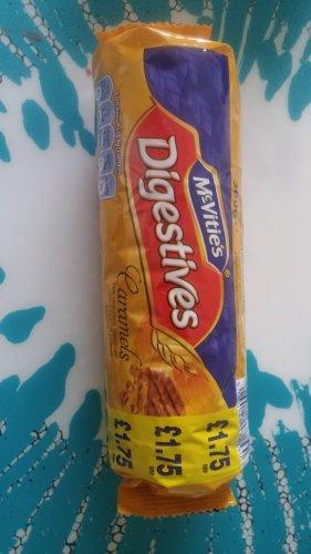 mcvities digestives caramels 300g 50p at poundstretcher uttoxeter