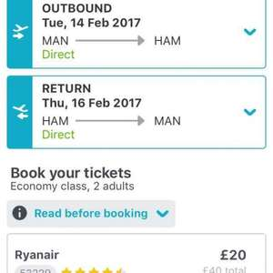 Flights to Hamburg on Valentine's Day for £20 with Ryanair! - Skyscanner