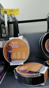 Jamie Oliver Tefal 24cm non-stick saute pan with lid & 2.9l capacity - £5 instore @ Morrisons Crewe