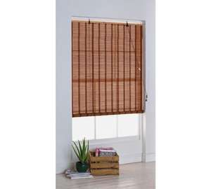 4 ft Eastern Style Bamboo Roller Blind was £9.99 now £5 @ Argos
