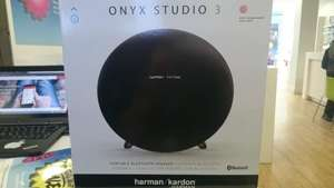 Harman Kardon Onyx 3 Bluetooth Speaker £99.99 at O2 - Glasgow Argyle St (potentially £80)
