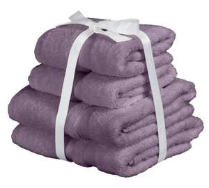 Heart of House Egyptian Cotton 8 Piece Towel Bale £20.98 - Heather with code home25 @ Argos
