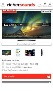 LG-OLED55B6V £1749 Richer Sounds