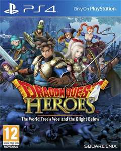 Dragon Quest Heroes: The World Tree's Woe and the Blight Below - PS4 £11.99 delivered @ Argos Ebay