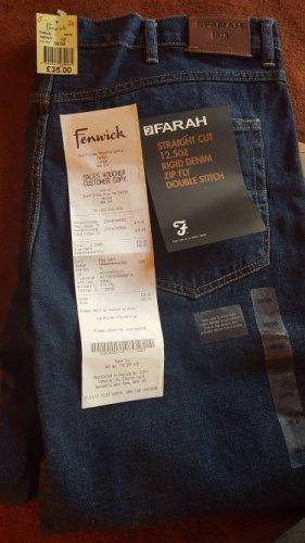 Farah staight jeans £15 @ fenwich brent cross
