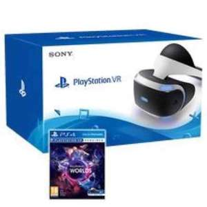 Playstation VR + VR Worlds IN STOCK £377.86 @ Shopto