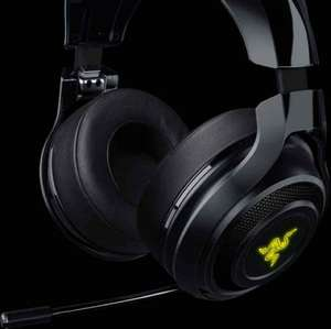 Razer ManO'War Wireless 7.1 Surround Sound Gaming Headset (PC/PS4) - Black @ Amazon Lightning Deal £89.99