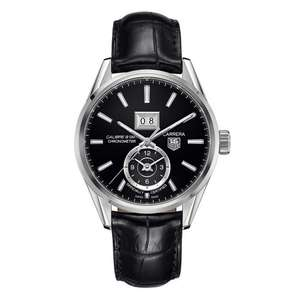 TAG Heuer Carrera Grande Date GMT Automatic Chronometer Watch £1880 @ Beaverbrooks