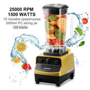 Excelvan 1500W 4 in 1 Multi-functional 2 Litre Jug Blender Professional Nutrition Commercial Mixer Food Processor Grinder for Smoothies, Juice,Milkshakes £57.99 Sold by FUDISI Tech and Fulfilled by Amazo