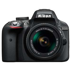 Nikon D3300 Digital SLR Camera with 18-55mm VR Lens £319 @ John Lewis