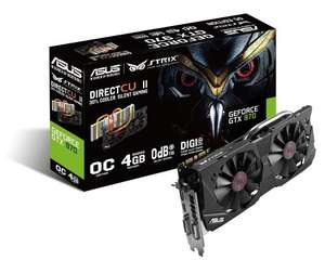 ASUS STRIX GTX970-DC2OC-4GD5 NVIDIA GeForce GTX 970 Graphics Card - like new £219.74 @ Amazon Warehouse