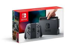 Nintendo Switch Grey - in stock pre-order £279.95 on Amazon.co.uk