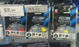 Grip It plasterboard fixings £1.99 @ home bargains instore