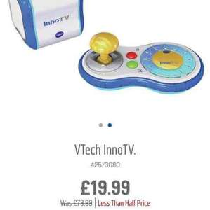 vtech innotv games console £19.99 was £79.99 from Argos