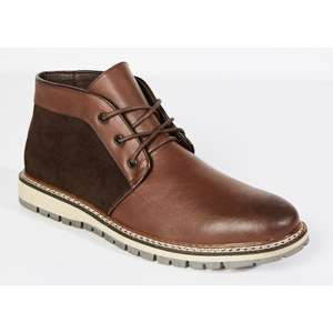 Various Men's Fabric 8 Fashion boots reduced to £10 / £12.99 delivered @ The Original Factory Shop