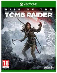 Rise of The Tomb Raider XB1 £14.99 @ Game